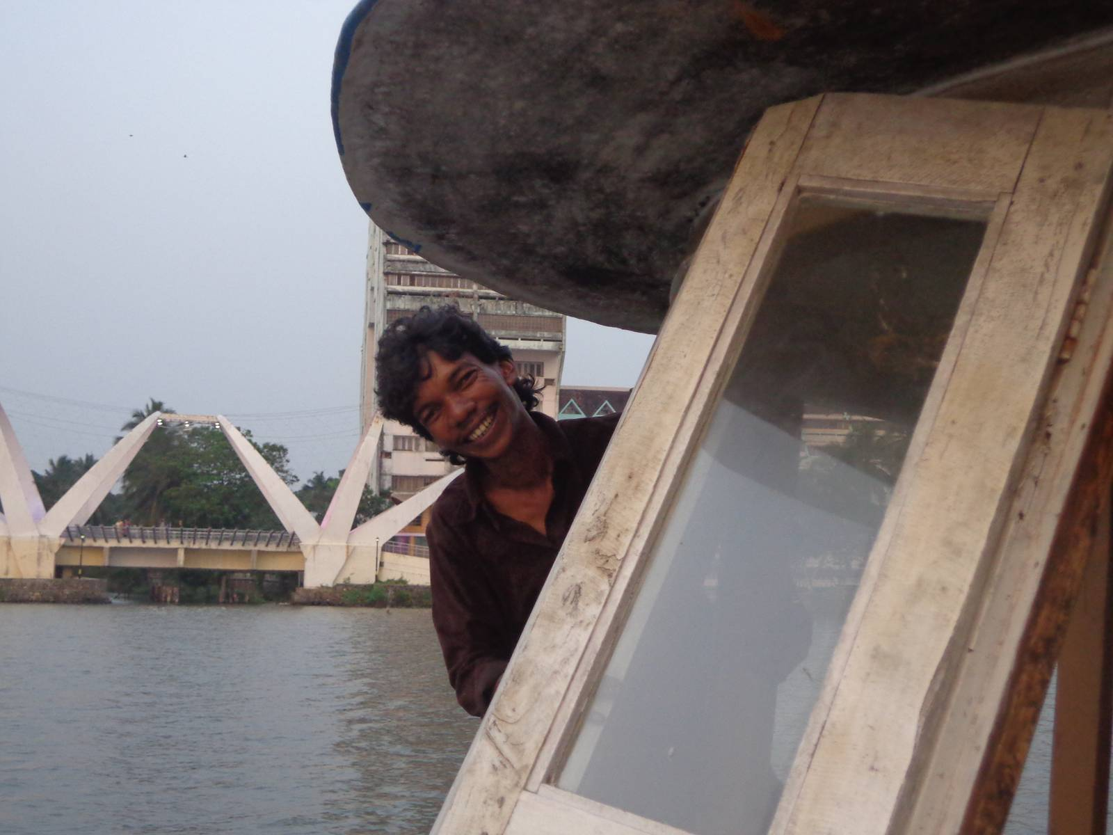 Santhosh, our self-assigned guide, was a very funny chap.