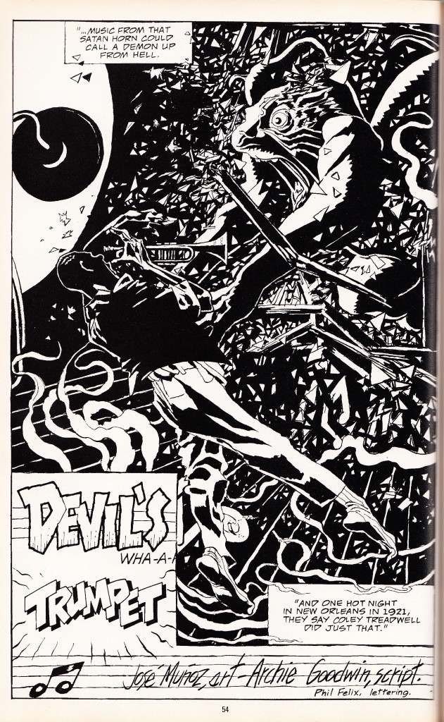 Archie Goodwin sets up the myth of the devil...