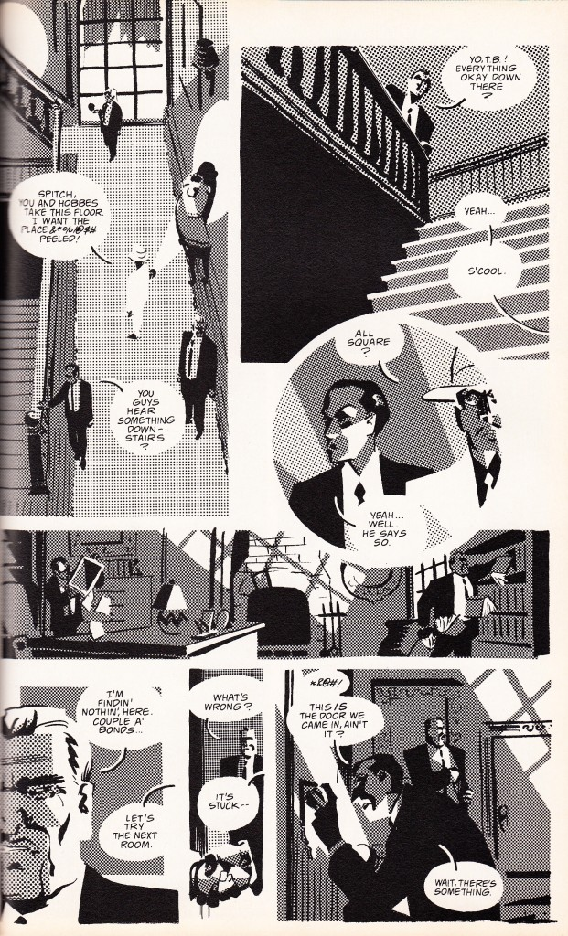 Matt Wagner uses halftone to create an unique effect