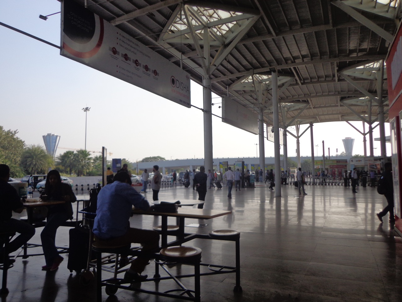 Delhi T1 Terminal, where I had my lunch.