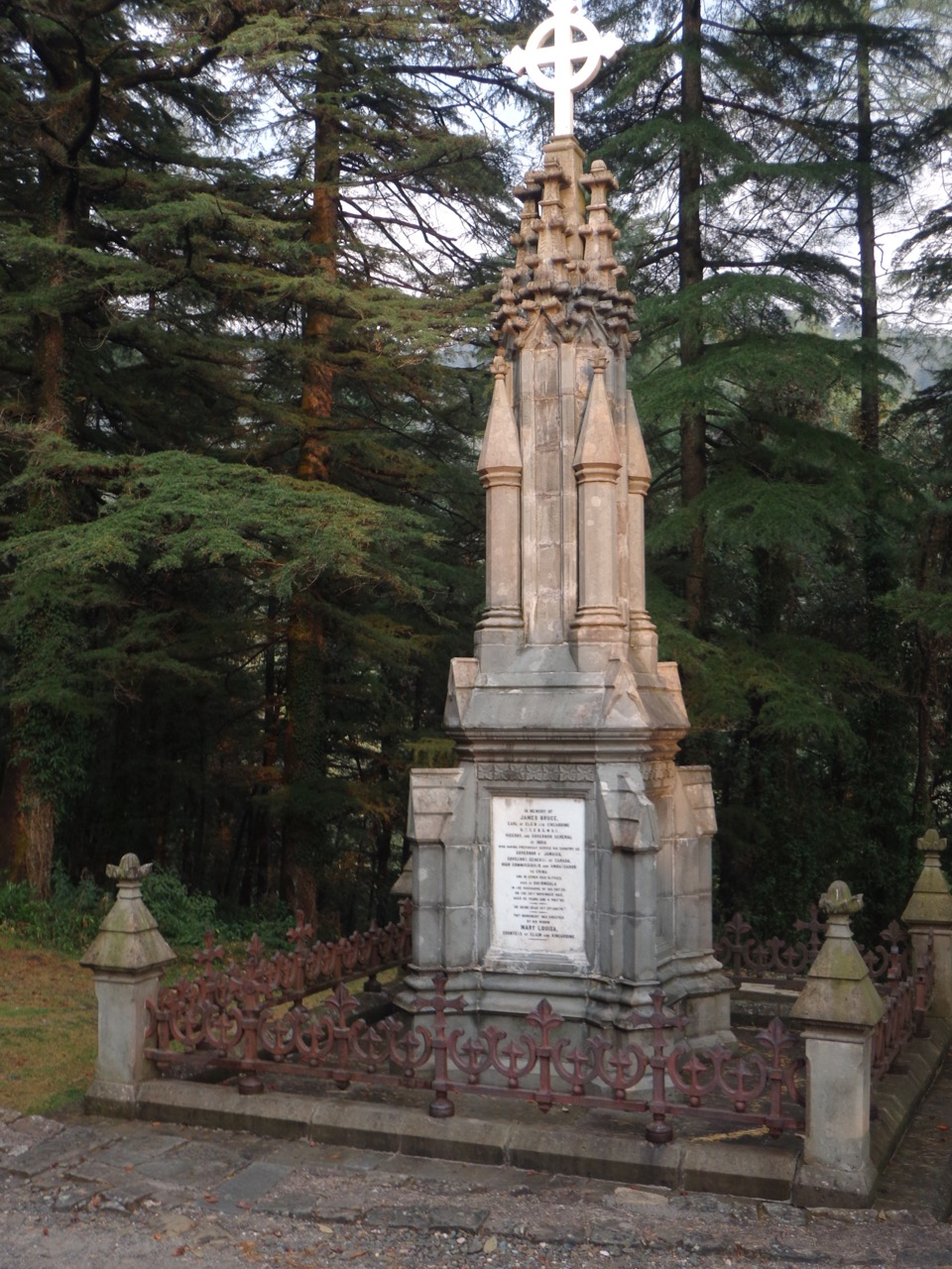 The memorial of James Bruce