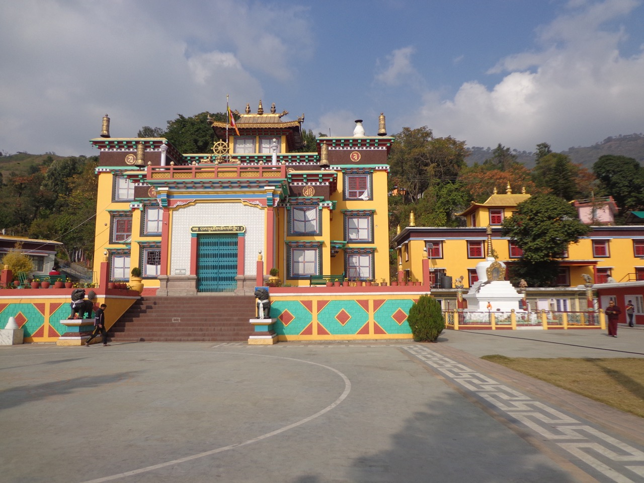 The Tashi Jong Monastery or technically, Khampagar Monastery at Tashi Jong.