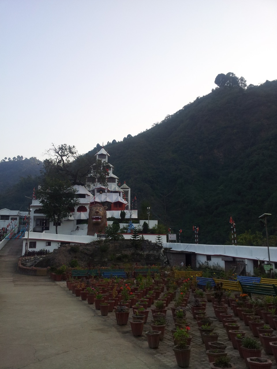The Bhimakali temple is situated right beside the bridge that connects Mandi and Kullu.