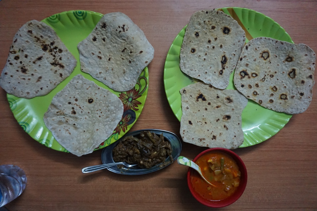 The profile shapes of the rotis were inspired by Kodaikanal's terrain.