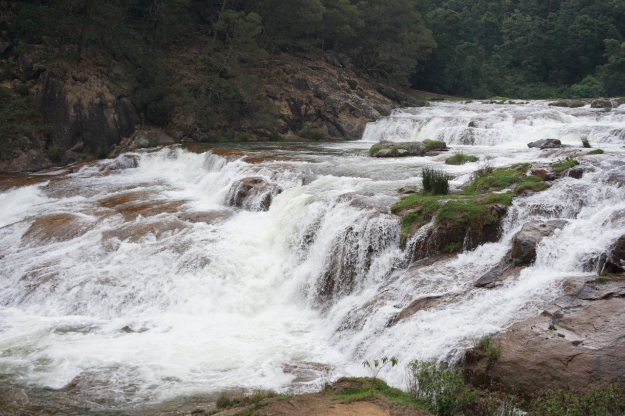 Pykara Falls is a separate spot  a few kilometers before Pykara Lake.