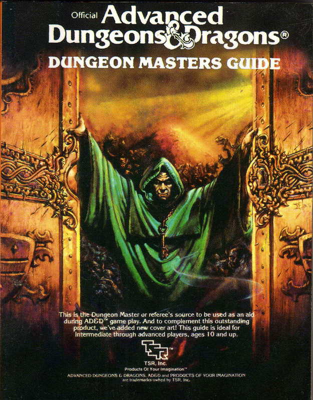 This particular edition of the D&D handbook has been referenced in the book.